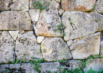 Etruscan Wall_7771